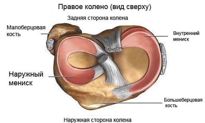 Исследования коленного сустава при мениске
